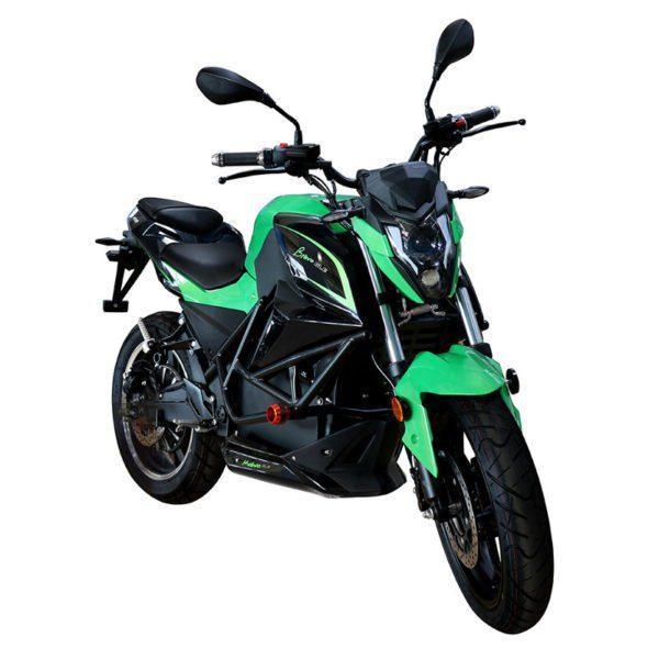 Moto eléctrica Ebroh GLE en color verde | Electric Mov