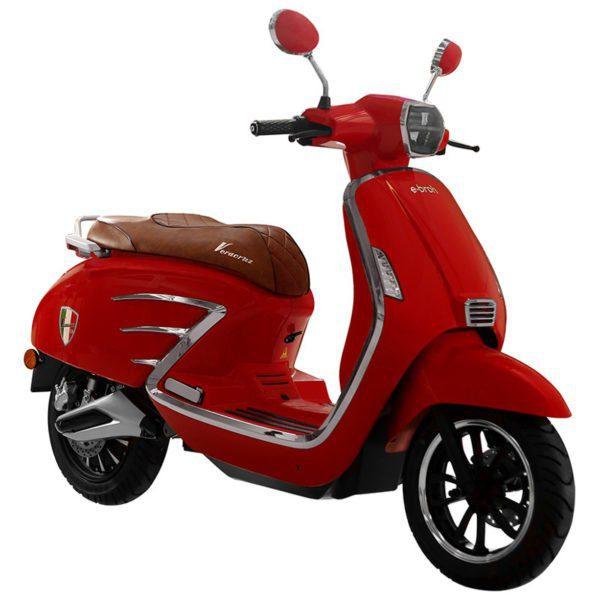Moto scooter eléctrico Ebroh Veracruz en color rojo | Electric Mov